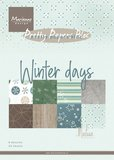 Marianne Design Paper Pack A5 - Marleen's Winter Days PK9164_