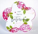 Marianne Design Stempel - Colourful Silhouettes: Roses CS1046_