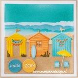 Marianne Design Creatable - Beach Houses Set LR0662_