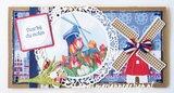 Marianne Design Paper Pad A4 - I Love Holland PK9168_