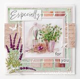 Marianne Design Paper Pad A5 - French Antiques PK9167_