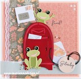 Marianne Design Clearstamp - Banners by Marleen CS1058_