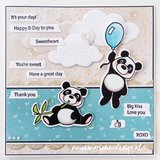 Marianne Design Clearstamp - Text Messages CS1060_
