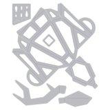 Sizzix Thinlits Die - Origami Reindeer 664454_