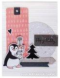 Marianne Design Die & Stamp - Eline's Penguins EC0185_