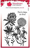 Creative Expressions Woodware Clear Stamp A6 - Autumn Flowers_