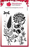 Creative Expressions Woodware Clear Stamp A6 - Autumn Pods_