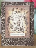 Creative Expressions Woodware Clear Stamp A6 - Wild Garden_