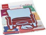 Marianne Design Creatable - Armchair & Kitten LR0688_