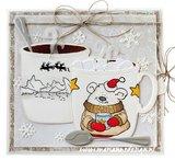 Marianne Design Die & Stamp - Hetty's Winter Bear HT1659_