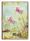 Marianne Design Mask A5 - Tiny's Butterfly Textures PS8078_