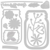 Sizzix Thinlits Die - Jar of Flowers 665079_