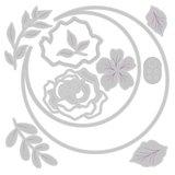 Sizzix Thinlits Die - Floral Crescent Moon Frame 665080_