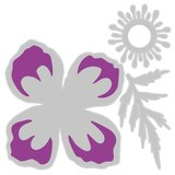 Sizzix Thinlits Die - Icelandic Poppy 665081_