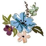 Sizzix Thinlits Die - Brushstroke Flowers #2 665210_