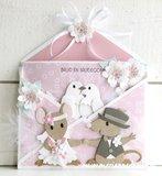 Marianne Design Paper Pad A4 - Eline's Honeymoon PB7060_
