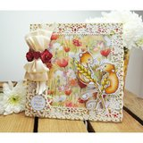 Wild Rose Studio Stempel - Harvest Mice CL493 OP = OP_