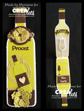 Crealies Cardzz  9 - Wijnfles_