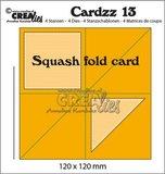 Crealies Cardzz 13 - Squash Fold Card_