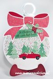 Marianne Design Craft Stencil - Christmas Baubles PS8017_