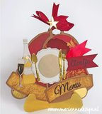 Marianne Design Craft Stencil - Christmas Bells PS8019_