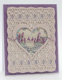 Tonic Studios Specialty Card - Lilac Waves 9843E_
