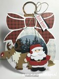 Marianne Design Craft Stencil - Christmas Baubles PS8017_