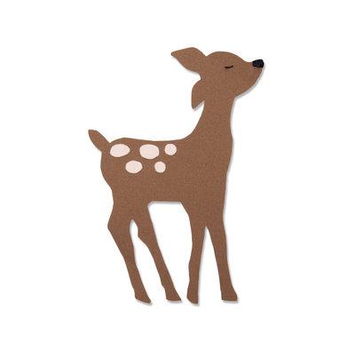 Sizzix Bigz Die - Retro Deer 663380