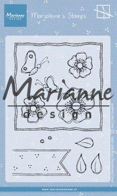 Marianne Design Stempel - Marjoleine's Anemones MZ1902