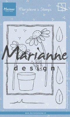 Marianne Design Stempel - Marjoleine's Daisies MZ1903