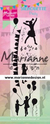 Marianne Design Stempel - Silhouette Party Limited Edition CS1038