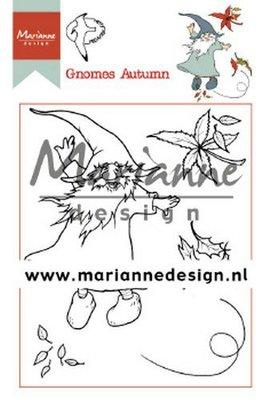 Marianne Design Stempel - Hetty's Gnomes Autumn HT1647