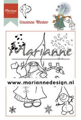 Marianne Design Stempel - Hetty's Gnomes Winter HT1648