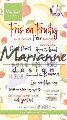 Marianne Design Stempel - Marleen's Fris & Fruitig CS1030