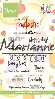 Marianne Design Stempel - Marleen's Fruitastic CS1031