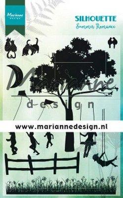Marianne Design Stempel - Silhouette Summer Romance CS1032