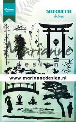 Marianne Design Stempel - Silhouette Sakura CS1033