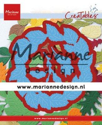 Marianne Design Creatable - Tiny's Leaves Wreath LR0624