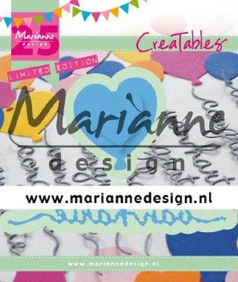 Marianne Design Creatable - Van Harte & Ballon limited edition LR0625