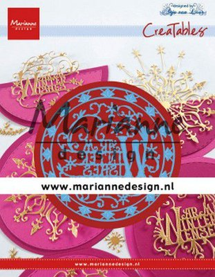 Marianne Design Creatable - Anja's Warm Winter Wishes LR0620