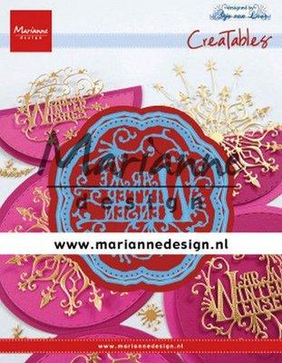 Marianne Design Creatable - Anja's Warme Winter Wensen LR0619