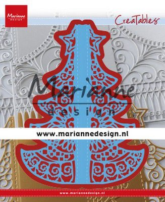 Marianne Design Creatable - Gate Folding Dies Christmas LR0612