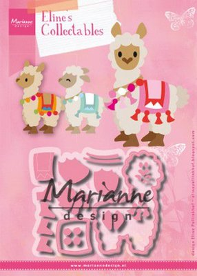 Marianne Design Collectable - Alpaca COL1470
