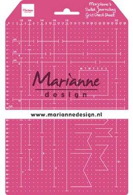 Marianne Design Grid Cheat Sheet  LR0030