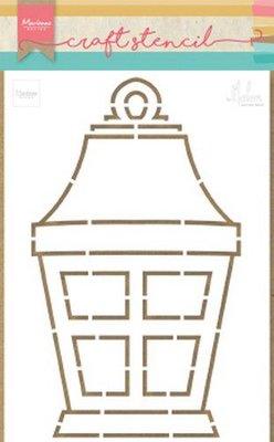 Marianne Design Craft Stencil - Lantern by Marleen PS8039