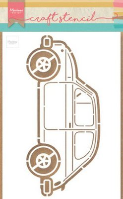Marianne Design Craft Stencil - Car PS8037