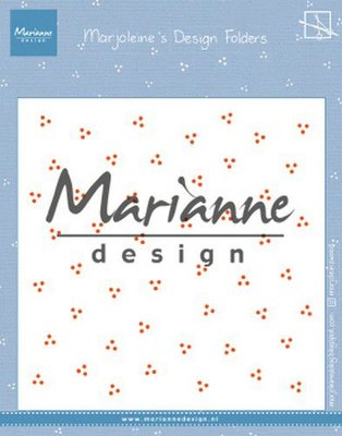 Marianne Design Embossing Folder - Marjoleine's Dots DF3455