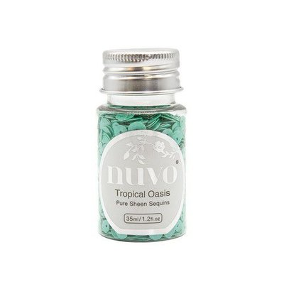 Nuvo Pure Sheen Sequins - Tropical Oasis 1147N