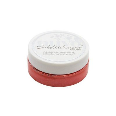Nuvo Embellishment Mousse - Fusion Red 836N