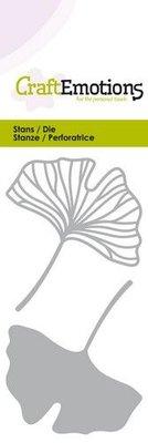 CraftEmotions Die - Ginko Leaves